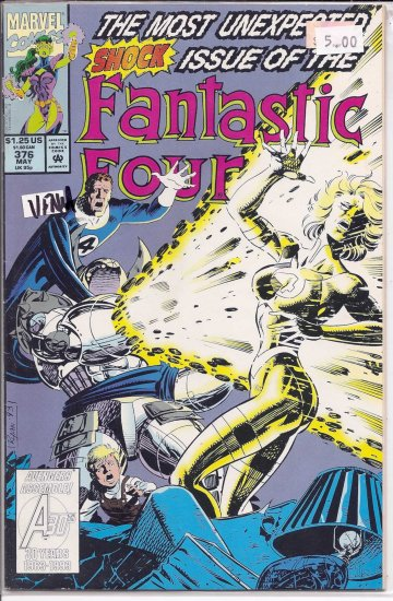 Fantastic Four # 376, 9.0 VF/NM