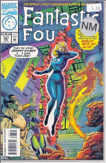 Fantastic Four # 387, 9.4 NM