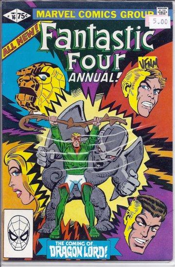 Fantastic Four Annual # 16, 9.0 VF/NM