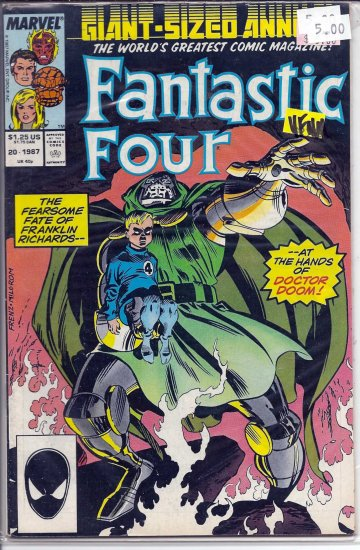Fantastic Four Annual # 20, 9.0 VF/NM