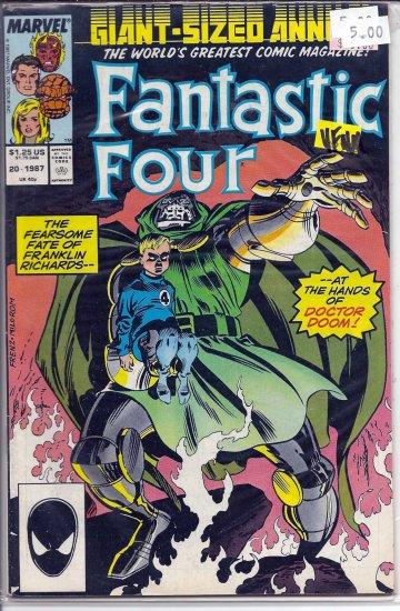 Fantastic Four Annual # 20, 9.0 VF/NM