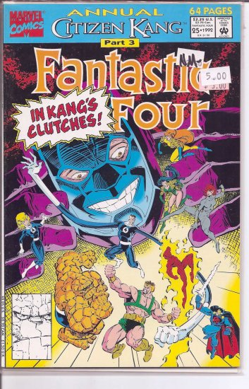 Fantastic Four Annual # 25, 9.2 NM -