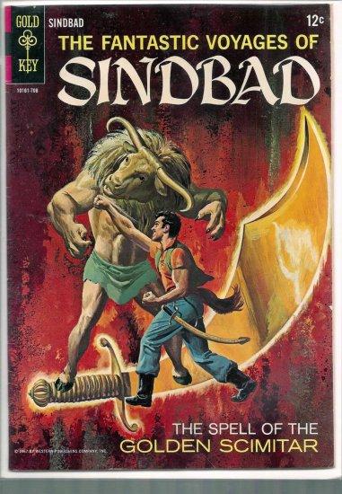 Fantastic Voyages of Sinbad # 2, 4.5 VG +