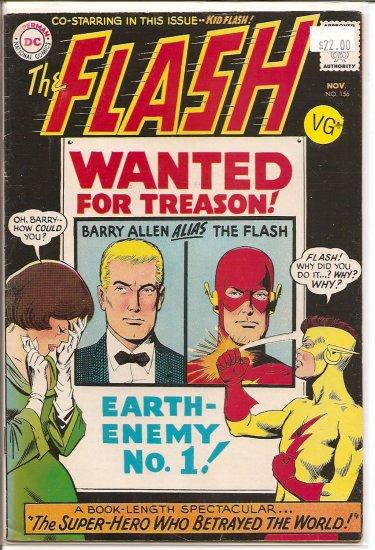Flash # 156, 4.5 VG +