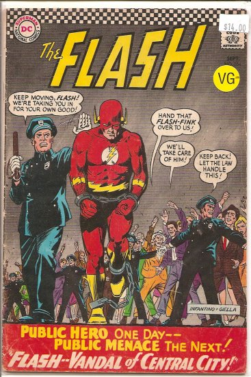 Flash # 164, 3.5 VG -