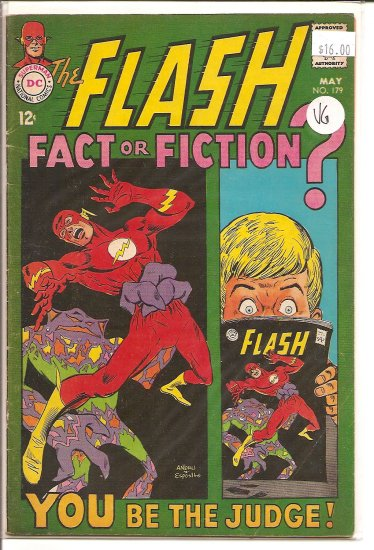 Flash # 179, 4.0 VG