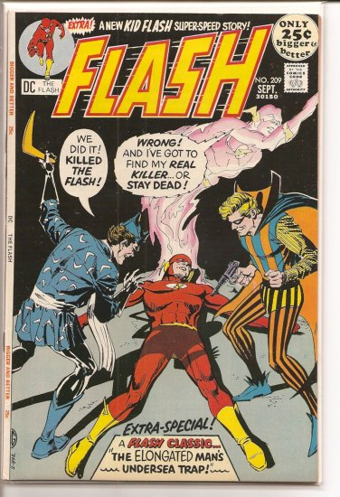 Flash # 209, 8.0 VF