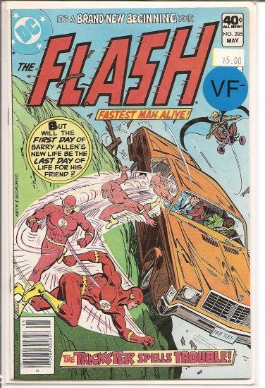 Flash # 285, 7.5 VF -