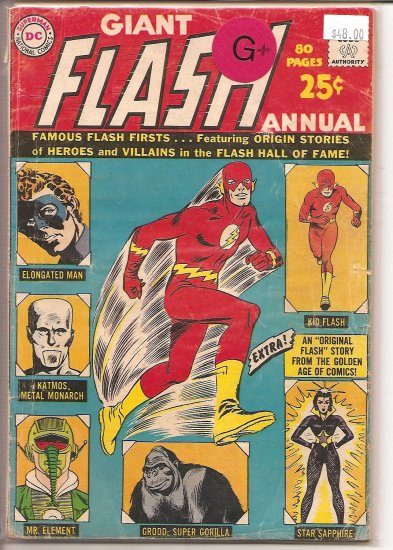 Flash Annual # 1, 2.5 GD +