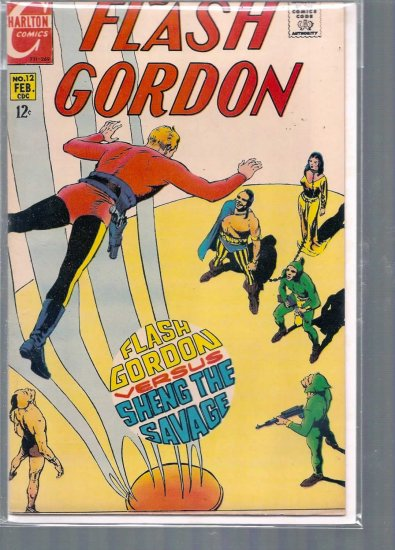 FLASH GORDON # 12, 7.0 FN/VF