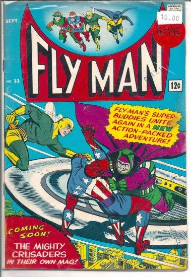 Fly Man # 33, 3.0 GD/VG