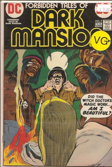 Forbidden Tales Of Dark Mansion # 9, 4.5 VG +