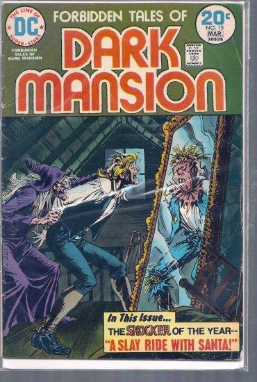 FORBIDDEN TALES OF DARK MANSION # 15, 3.0 GD/VG