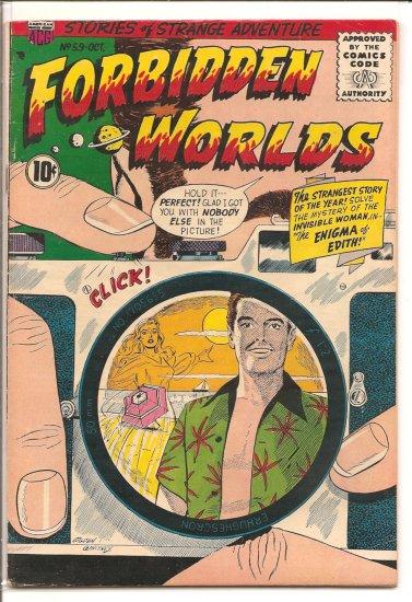 FORBIDDEN WORLDS # 59, 4.0 VG