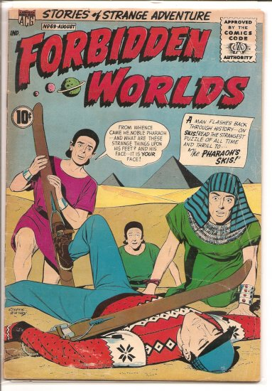 FORBIDDEN WORLDS # 69, 3.5 VG -