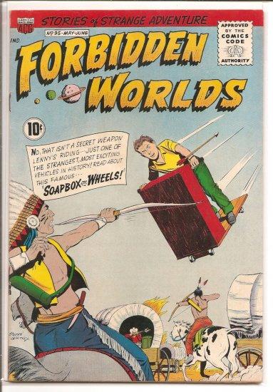 FORBIDDEN WORLDS # 95, 4.5 VG +