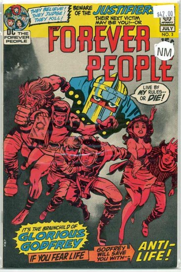 Forever People # 3, 9.0 VF/NM
