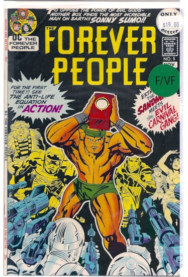 Forever People # 5, 7.0 FN/VF