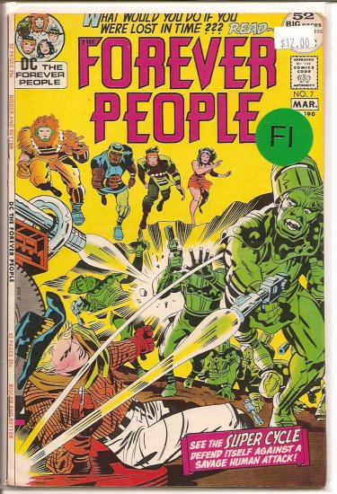 Forever People # 7, 6.0 FN