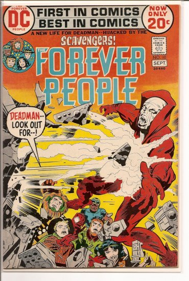 Forever People # 10, 7.5 VF -
