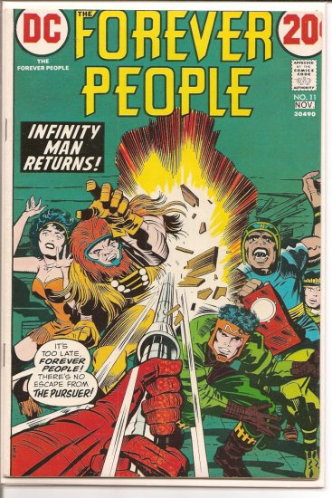 Forever People # 11, 8.0 VF
