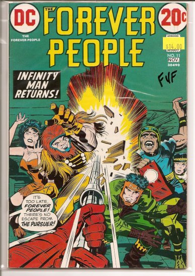 Forever People # 11, 7.0 FN/VF