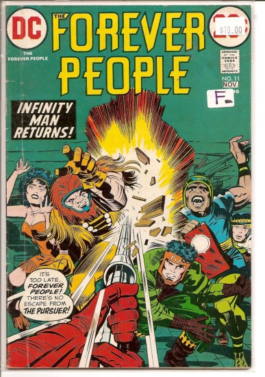 Forever People # 11, 5.5 FN -