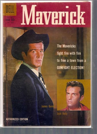 FOUR COLOR MAVERICK # 1005, 3.5 VG -