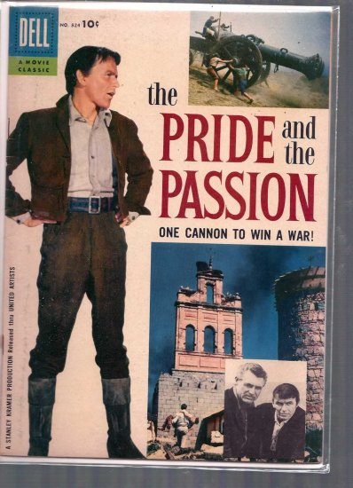 FOUR COLOR THE PRIDE AND THE PASSION # 824, 4.5 VG +