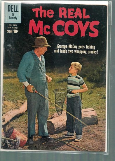 FOUR COLOR THE REAL MCCOYS # 1071, 4.5 VG +