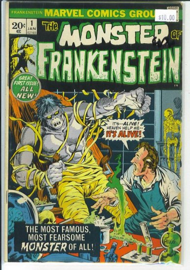 Frankenstein # 1, 2.5 GD +