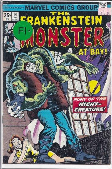 Frankenstein # 14, 6.5 FN +