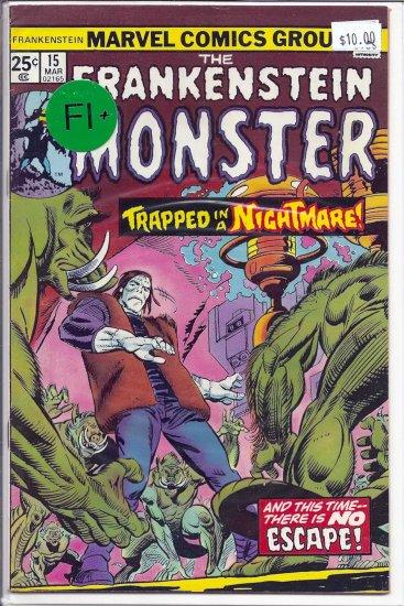 Frankenstein # 15, 6.5 FN +