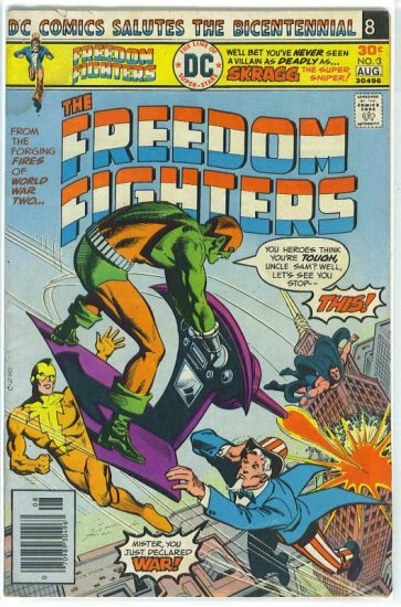 Freedom Fighters # 3, 3.5 VG -