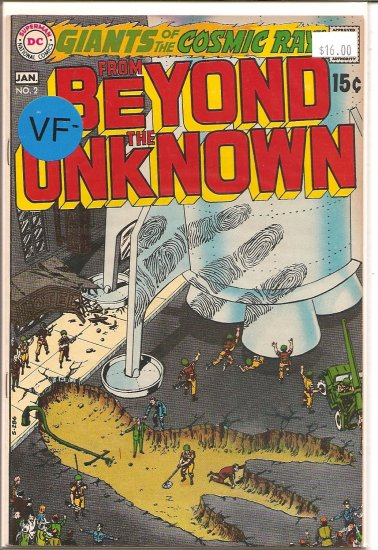 From Beyond the Unknown # 2, 7.5 VF -