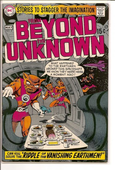 From Beyond the Unknown # 4, 6.5 FN +