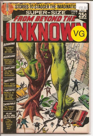 From Beyond The Unknown # 7, 4.0 VG