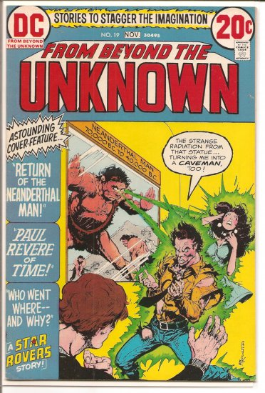 From Beyond the Unknown # 19, 6.5 FN +