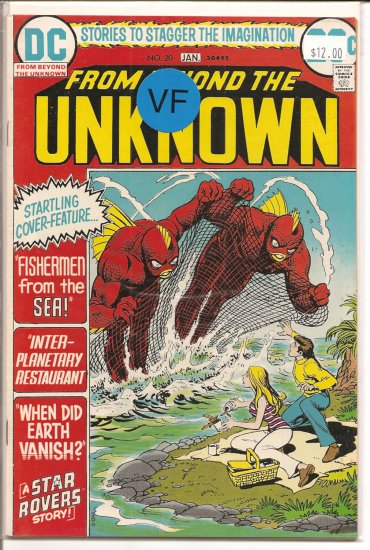 From Beyond the Unknown # 20, 8.0 VF