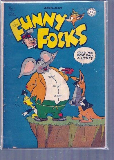 FUNNY FOLKS # 1, 4.5 VG +