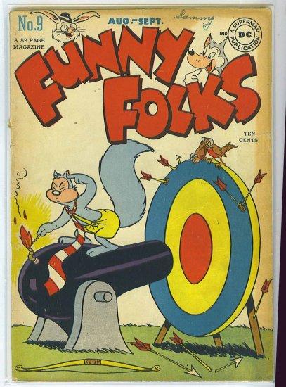 Funny Folks # 9, 2.5 GD +