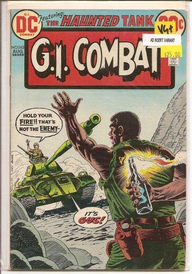 G.I. Combat # 163, 4.5 VG +
