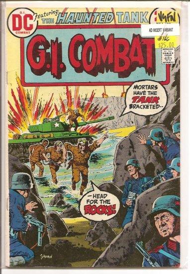 G.I. Combat # 166, 5.0 VG/FN
