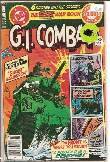 G.I. Combat # 216, 6.0 FN