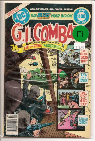 G.I. Combat # 229, 6.0 FN