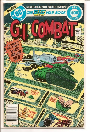 G.I. Combat # 231, 4.0 VG
