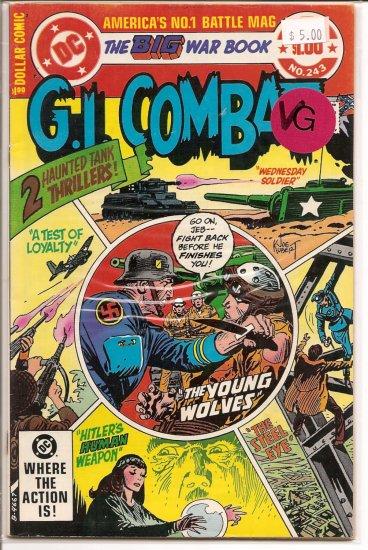 G.I. Combat # 243, 7.0 FN/VF