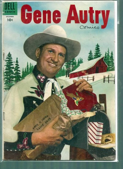 GENE AUTRY COMICS # 44, 3.0 GD/VG