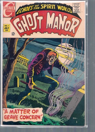 GHOST MANOR # 1, 6.0 FN