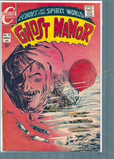 GHOST MANOR # 9, 4.5 VG +